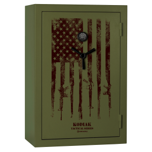 38 Long Gun Tactical Safe with E-Lock and Integrated Flag