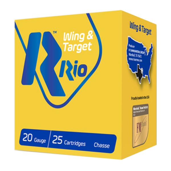 Murdoch's – RIO Ammunition - Wing & Target 20 Gauge 2-3/4