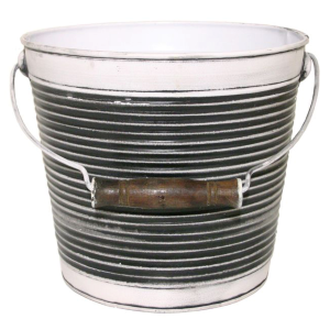"10"" Vintage Collection Ribbed Planter"