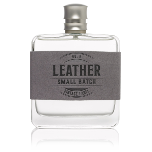Leather No. 2 Small Batch Vintage Label Cologne