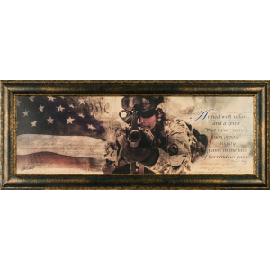 The American Soldier Wall Art