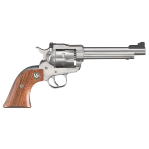 Single-Six-Convertible Stainless .22 LR Single-Action Revolver - 5.5""