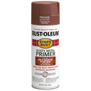 Stops Rust Rusty Metal Primer Spray Paint