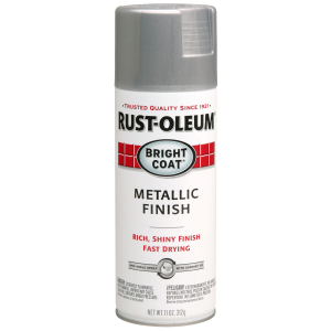 Stops Rust Bright Coat Metallic Finish Spray Paint