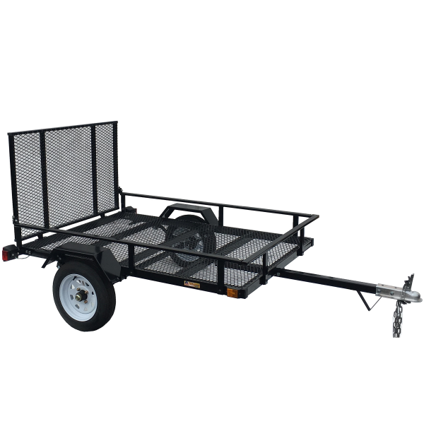 4.5X6 Trailer with Ramp LED