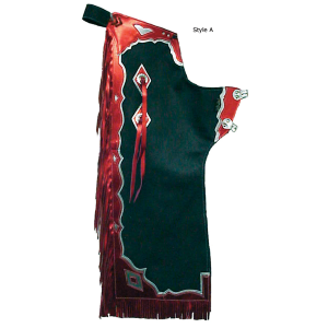 """The Contender"" Youth Pro Rodeo Chaps - Assorted Colors/Styles"