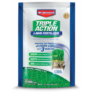 Triple Action Lawn Fertilizer