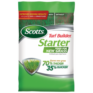 Turf Builder Starter Food For New Grass 24-25-4