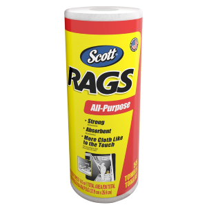 Rags All-Purpose White Towels