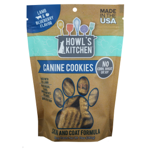 Lamb & Blueberry Canine Cookies
