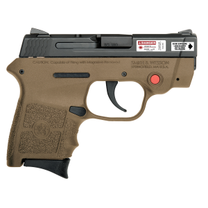 M&P Bodyguard 380 FDE Pistol with Crimson Trace Integral Laser