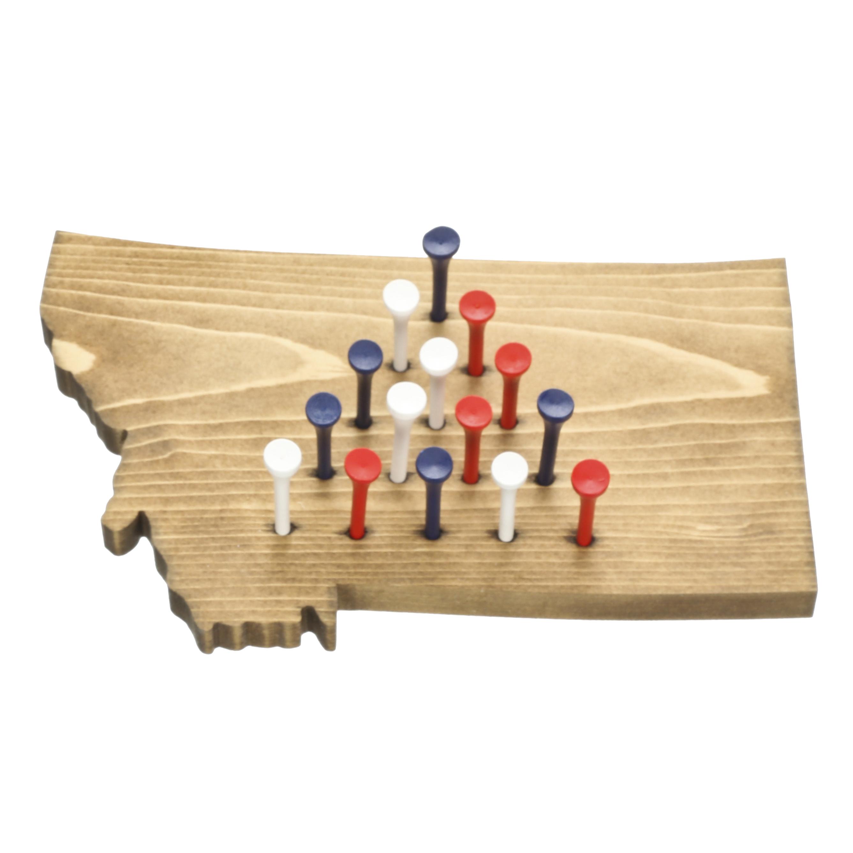 Murdoch S Soaring Eagle Woodworking Montana Wood Peg Game