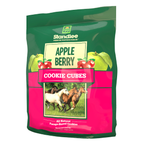 Apple/Berry Cookie Horse Cubes