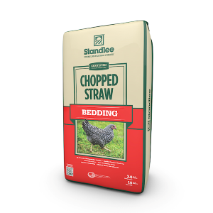 Certified Chopped Straw Bedding
