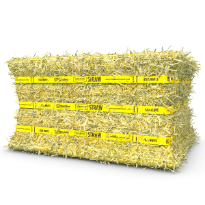 Certified Compressed Straw Bale