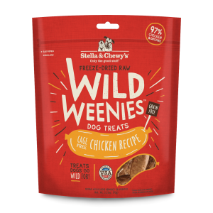 Freeze-Dried Raw Wild Weenies Cage-Free Chicken Recipe Dog Treats