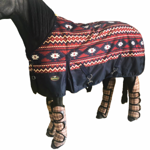 1200D Turnout Blanket with 250g Fill - Aztec