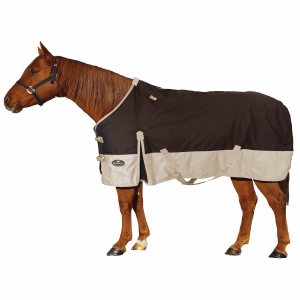 1200D Turnout Horse Blanket 250g Fill - Two Tone