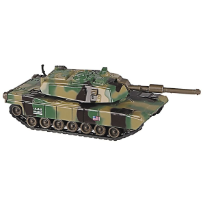 Pull Back Army Tank Toy - Assorted Colors