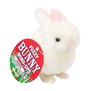Fuzzy Bunny Wind Up Toy - Assorted Colors