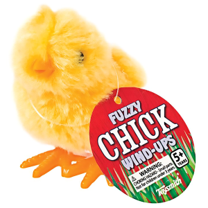 Fuzzy Chick Wind Up Toy - Assorted Colors