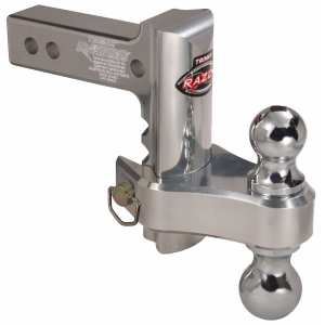 Aluminum Adjustable Drop Hitch with Dual Hitch Ball