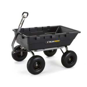10 cu. ft. Heavy Duty Poly Yard Cart