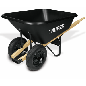 8 cu. ft. Dual Wheel Wheelbarrow