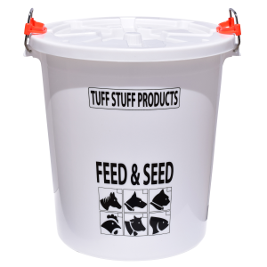 Feed & Seed Storage with Locking Lid