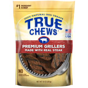 Steak Premium Grillers Dog Treats