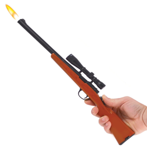 Bolt Action Rifle with Scope BBQ Lighter