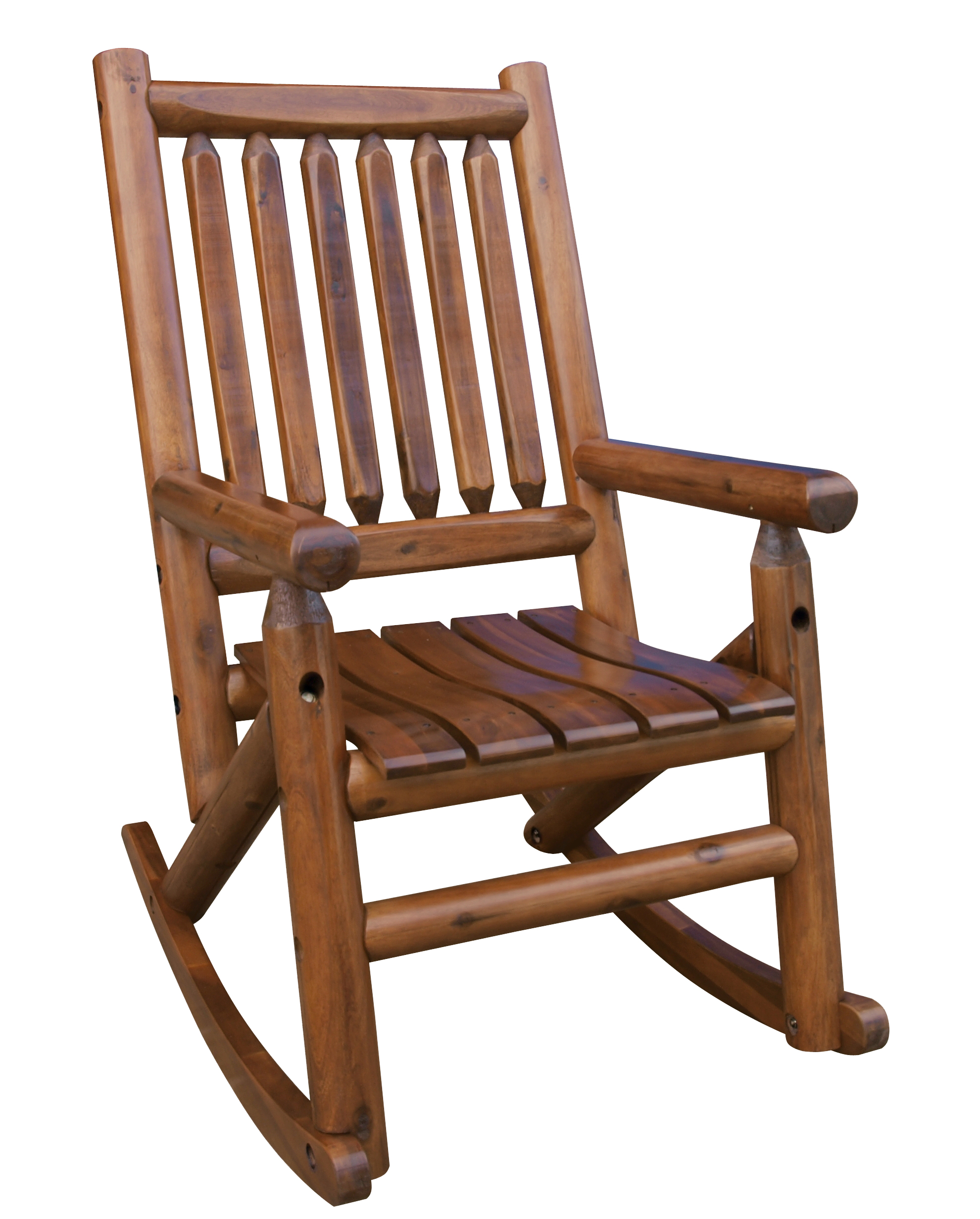 Magnificent Murdochs Leigh Country Amber Log Porch Rocker Machost Co Dining Chair Design Ideas Machostcouk
