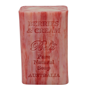 Berries & Cream Large Soap Bar