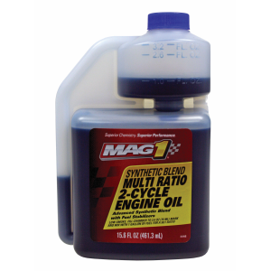 Synthetic Blend 2-Cycle Oil with Fuel Stabilizer