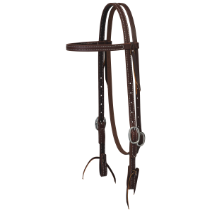 Working Cowboy Straight Browband Headstall