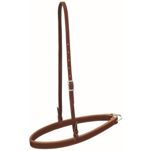 Horizons Noseband with Bleeding Heart Knots