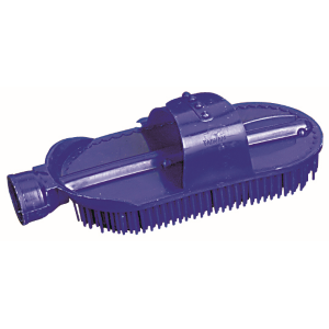 Plastic Curry Comb with Hose Attachment