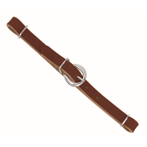 Horizons Straight Leather Curb Strap