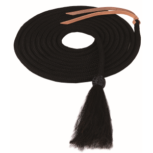 Nylon Mecate with Horsehair Tassel