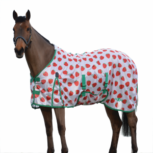 Mesh Standard Fly Sheet - Strawberry Print