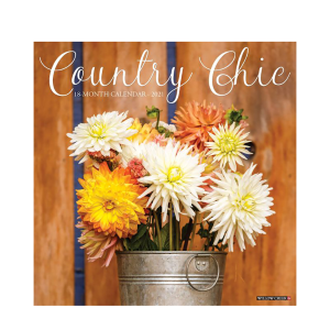 Country Chic 2021 Calendar