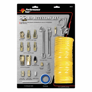 Multi-Piece Pneumatic Accessory Kit