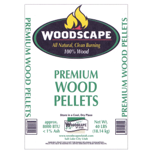 Premium Wood Pellets - 40 lb bag
