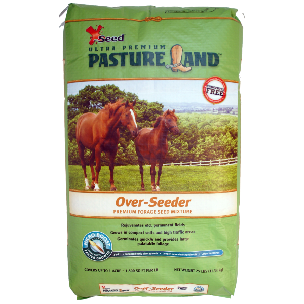 Pasture Land Over-Seeder Mixture W/Micro-Boost