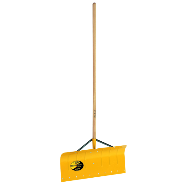Murdochs Yo Ho 24 Hd Braced Aluminum Snow Shovel With Wood Handle