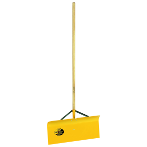 "30"" Braced Spring Steel Snow Shovel With Wood Handle"