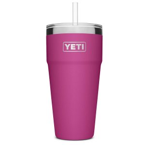 26 oz Rambler Stackable Cup WIth Straw Lid