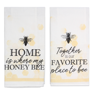 Cotton Bee Tea Towel - Assorted