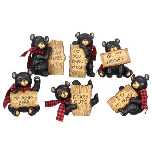 Black Bear Figurine - Assorted