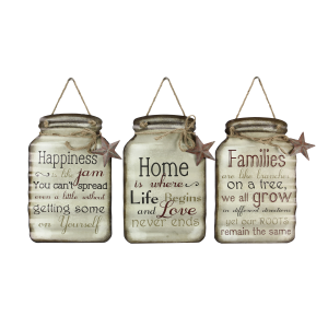Mason Jar Tin Signs